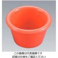 江部松商事(EBEMATSU) ジェスナーラメキン プレーン(メラミン)0393 オレンジ 3oz 1個 61-6814-38(直送品)