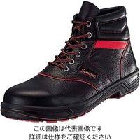 シモン(Simon) 安全靴 シモンライト SL22-R 黒/赤 26cm 1個 61-7963-78(直送品)