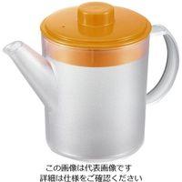 丸山ステンレス Be キュートポット オレンジ Be-942 1個 62-3881-43(直送品)