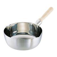 本間製作所 エコクリーン スーパーデンジ 雪平鍋 18cm 1個 62-6331-96(直送品)