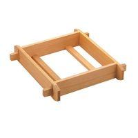 遠藤商事 木製 角セイロ 浅口(サワラ材) 30cm 1個 62-6441-36(直送品)