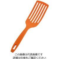 アルティス ホームシェフ しなるロングターナー オレンジ 1個 62-6457-15(直送品)