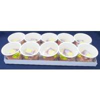 日東食品 「業務用」10個入 ひきわりカップ納豆TK 5パック:30GX10コ(直送品)