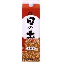 「業務用」日の出合成清酒 6本:1.8L キング醸造(直送品)