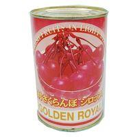 ゴールデンロイヤル 「業務用」枝付さくらんぼシロップ漬け 24缶:4ゴウ(コケイ230G)(直送品)