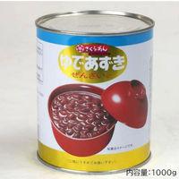 谷尾食糧工業 「業務用」ゆであずき(缶) 5缶:2ゴウ(直送品)