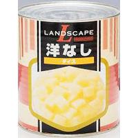 マックストレーディング 「業務用」洋なし(ダイス) 6缶:1ゴウ(直送品)