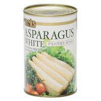 マックストレーディング 「業務用」アスパラガス ホワイト 5缶:4ゴウ(直送品)