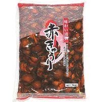 グリーンファーム 「業務用」味わい漬物 赤きゅうり 5袋:1KG(コケイ750G)(直送品)