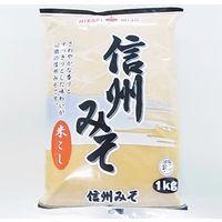 「業務用」信州みそ(白) 10袋:1KG(直送品)