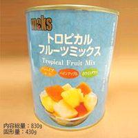 マックストレーディング 「業務用」トロピカルフルーツミックス 12缶:2ゴウ(直送品)