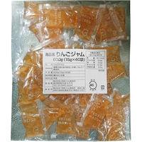 両角ジャム製造所 「業務用」りんごジャムJAS標準 5袋:15GX40(直送品)