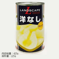 マックストレーディング 「業務用」洋なし(ハーフ) 24缶:4ゴウ(直送品)