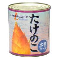 マックストレーディング 「業務用」たけのこ水煮ホール缶(麻竹) 6缶:1ゴウ(直送品)