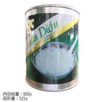 天狗缶詰 「業務用」杏仁豆腐 12缶:2ゴウ/コケイ525G(直送品)