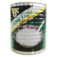 天狗缶詰 「業務用」杏仁どうふ(緑缶) 6缶:1ゴウ(2000G)(直送品)
