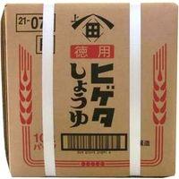 ヒゲタ醤油 「業務用」P徳用こいくちしょうゆ 1ケース:10L BIB(直送品)