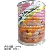 天狗缶詰 「業務用」フルーツみつ豆 6缶:1ゴウ/1950G(直送品)