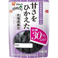 フジッコ 「業務用」甘さをひかえた北海道黒豆 10袋:114G(直送品)