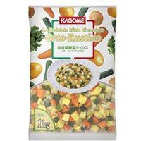 カゴメ 「業務用」田舎風野菜ミックス 5袋:1KG(直送品)