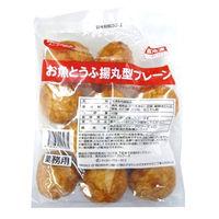 キッコーマンソイフーズ 「業務用」お魚とうふ揚丸型プレーン 5パック:50GX10コ(直送品)