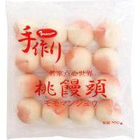 友盛貿易 「業務用」手作り桃饅頭 5袋:25GX16コ(直送品)