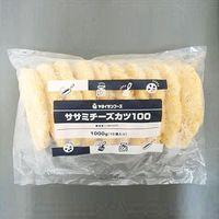 ヤヨイサンフーズ 「業務用」新ササミチーズカツ100 5袋:100GX10コ(直送品)