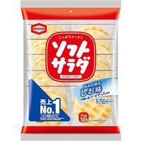 亀田製菓 「業務用」ソフトサラダせんべい 12袋:2マイX10イリ(直送品)