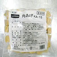 不二製油 「業務用」角揚げKA-15N 5袋:1KG(直送品)