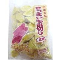 京果食品 「業務用」さつまいも乱切り皮無(約20Gカット) 5袋:1KG(直送品)