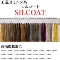 カナガワ ボタン付けスパン手縫糸シルコート #20/30m 107番色 slc20/30-107 1セット(5個×30m巻)(直送品)