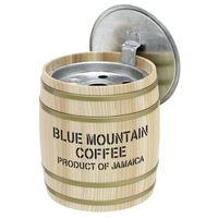 渡辺金属工業 日本製蓋付 木樽灰皿 035 0.35Lサイズ バレル 3個セット 035_3P(直送品)