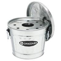 渡辺金属工業 日本製蓋付き灰皿 OH1/1Lサイズ シルバー 3個セット OH1/1L_3P(直送品)