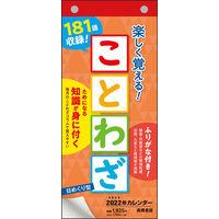 高橋書店 【2022年版】日めくり型 ことわざカレンダー E511 1冊(直送品)