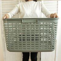ランドリーバスケット カーゴ 洗濯カゴ 大容量 バスケット 洗濯 グレイッシュ(取寄品)