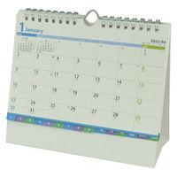 新日本カレンダー 2022年卓上カレンダー ファインプラン B6 NK-560 1冊