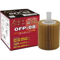 【カー用品】AQUA DREAM PLATINUM オイルフィルター トヨタ・マツダ・HINO車用 AD-OFP-08 1個(直送品)