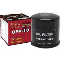 【カー用品】AQUA DREAM PLATINUM オイルフィルター トヨタ・HINO車用 AD-OFP-10 1個(直送品)