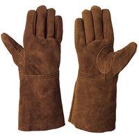 シモン 牛床革手袋(オイル加工) CS-900 フリ- 1セット(10双)(直送品)