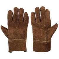 シモン 牛床革手袋(オイル加工) CS-910 L 1セット(10双)(直送品)