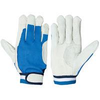 シモン 豚皮手袋 PL-133 フリ- 1セット(3双)(直送品)