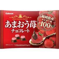 あまおう苺チョコレート 4901550372004 155G×12個 カバヤ食品(直送品)