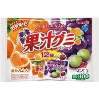 明治 果汁グミアソート袋 4902777083988 163.2G×18個(直送品)