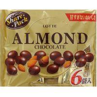 ロッテ アーモンドチョコレートシェアパック 4903333213207 117G×18個(直送品)