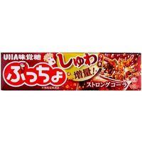 UHA味覚糖 ぷっちょスティックストロングコーラ 4902750905498 10ツブ×20個(直送品)
