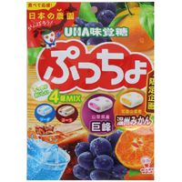 UHA味覚糖 ぷっちょ4種アソート袋 4902750905665 93G×12個(直送品)
