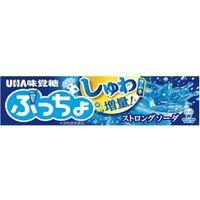 UHA味覚糖 ぷっちょスティックストロングソーダ 4902750905450 10ツブ×120個(直送品)