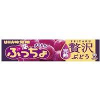 UHA味覚糖 ぷっちょスティック 贅沢ぶどう 4902750905535 10ツブ×120個(直送品)