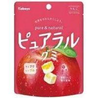 ピュアラルグミ りんご 4901550269403 58G×16個 カバヤ食品(直送品)