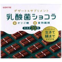 ロッテ 乳酸菌ショコラ カカオ70 4903333286805 48G×72個(直送品)